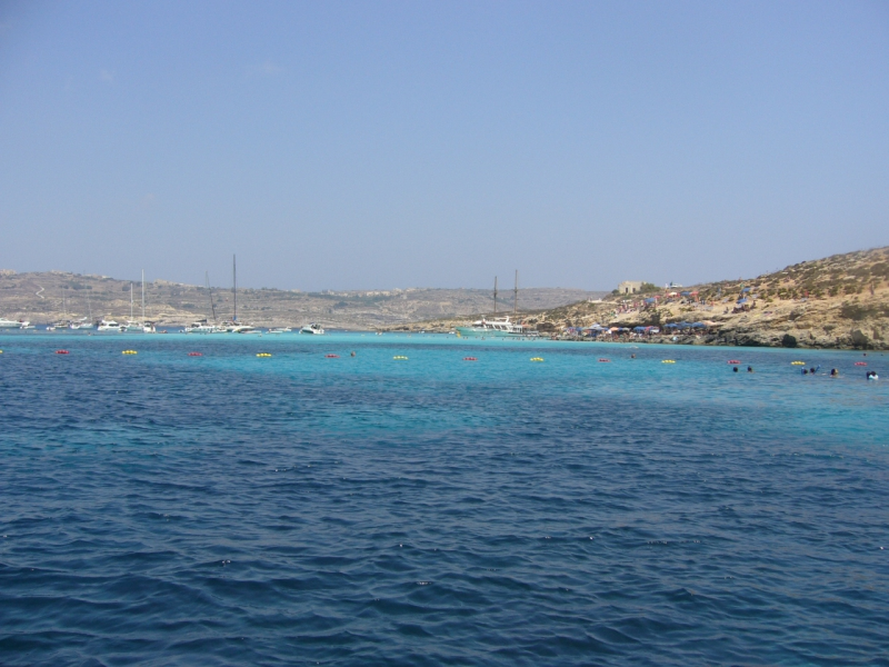 Blue lagon � Comino